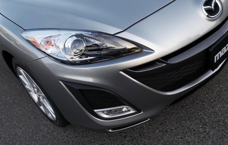 Photo wallpaper auto, style, before, Mazda, aluminium metallic
