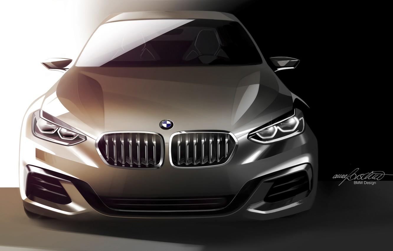 Photo wallpaper Concept, BMW, BMW, Sedan, 1-Series