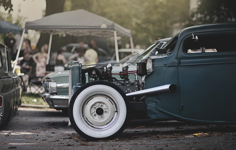 Photo wallpaper hot, Chevrolet, chevrolet, rod, hot, rod