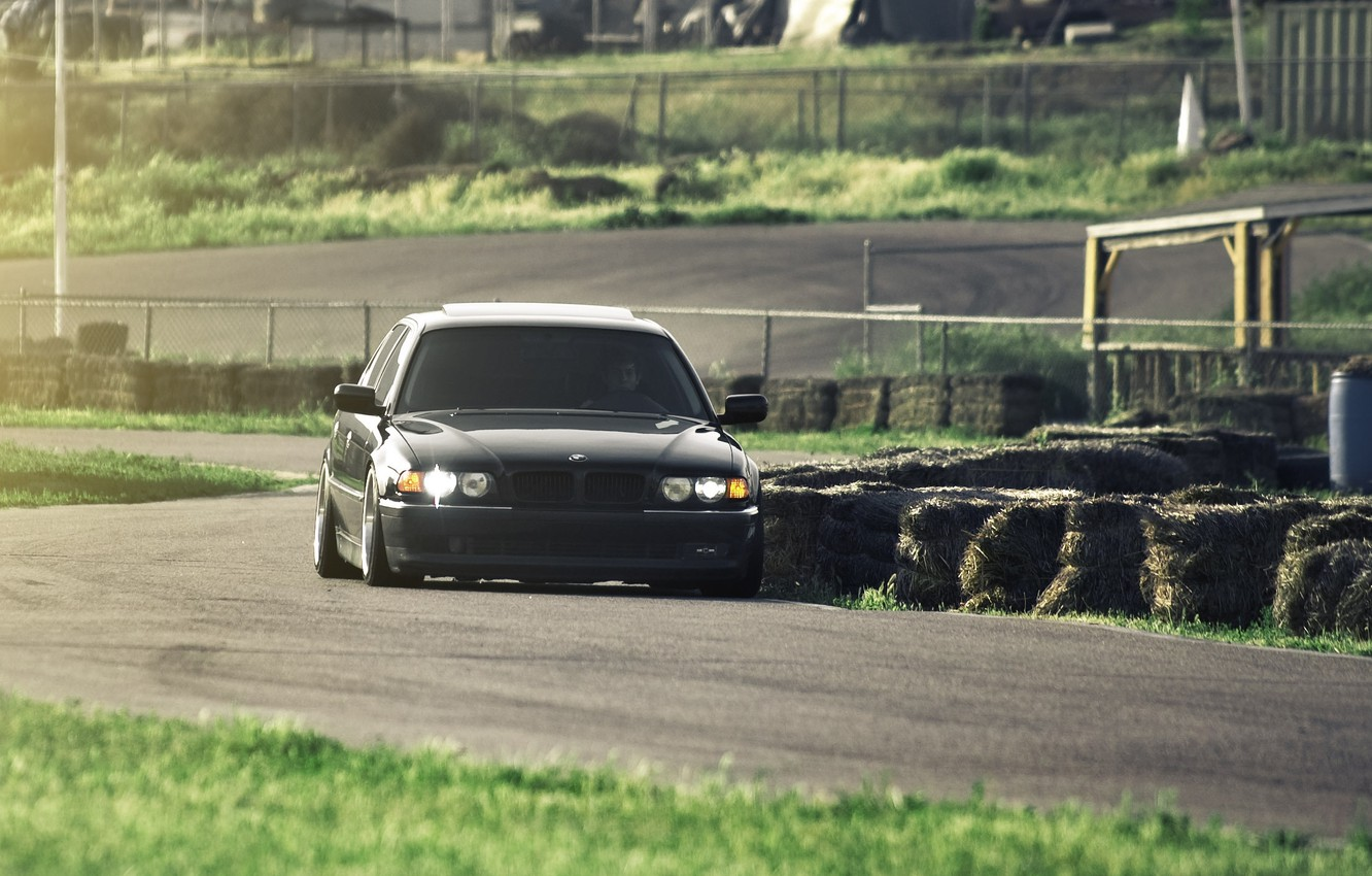 Photo wallpaper tuning, Boomer, seven, e38, bumer, bmw 740, Dylan Leff, test drive