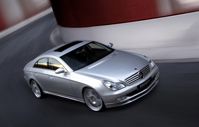 Photo wallpaper machine, Mercedes-Benz, CLS