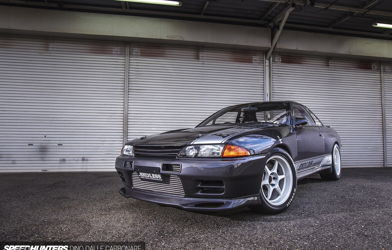 Photo wallpaper GTR, Nissan, R32, Skyline, Godzilla