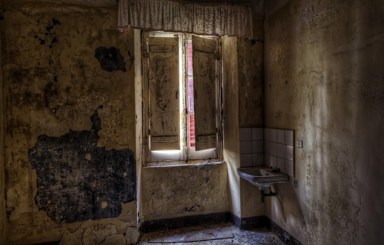 Photo wallpaper room, interior, window