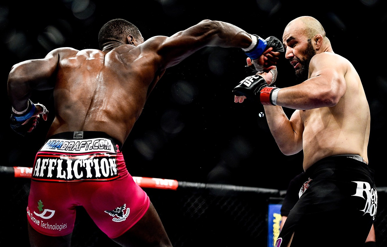 Wallpaper Blow Fighters Mma Ufc Fighters Mixed Martial Arts Phil Davis Glover Teixeira Images For Desktop Section Sport Download