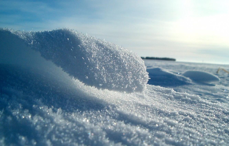 Photo wallpaper ice, winter, Snow