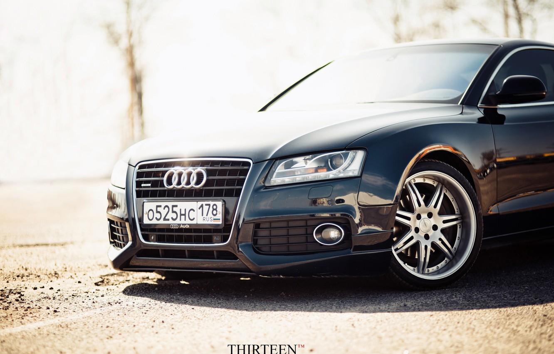 Photo wallpaper machine, auto, Audi, Audi, photographer, before, drives, auto, photography, photographer, Thirteen, Mark Litovkin, A5 Coupe