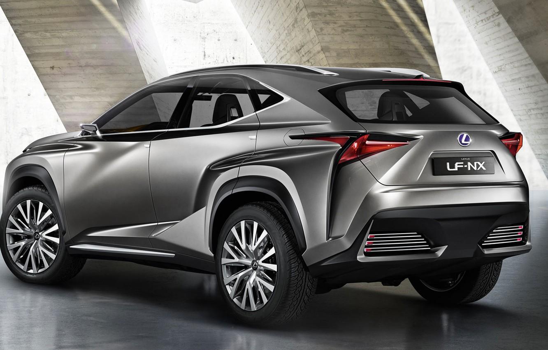 Photo wallpaper Lexus, crossover, NF-NX