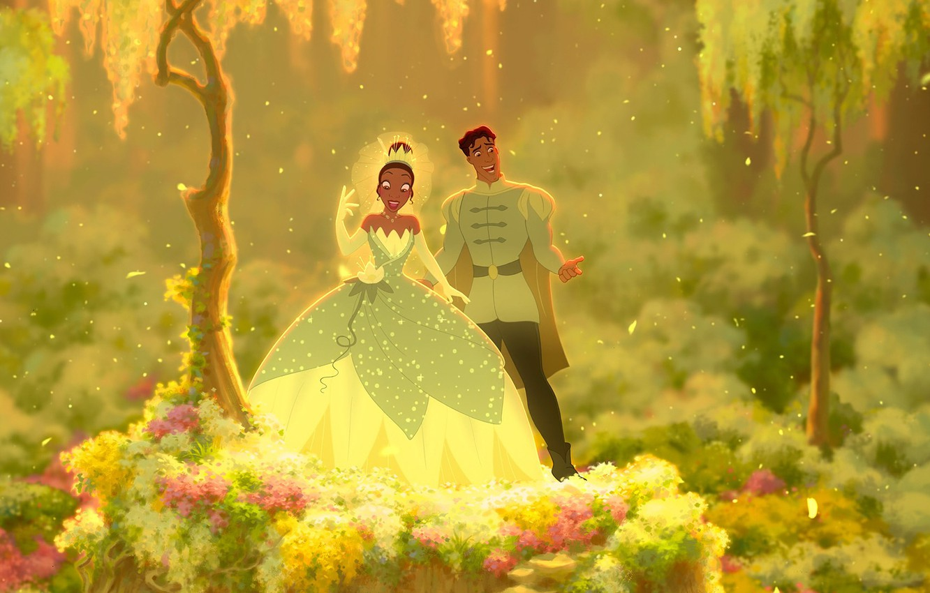 Wallpaper Tiana The Princess And The Frog The Princess And The