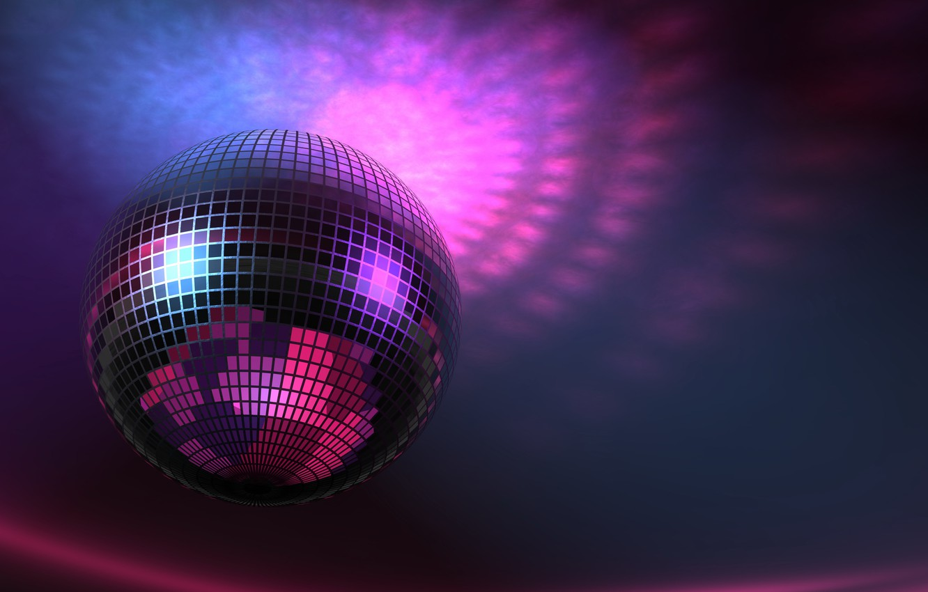 Photo wallpaper Music, Disco Ball, The Wallpapers