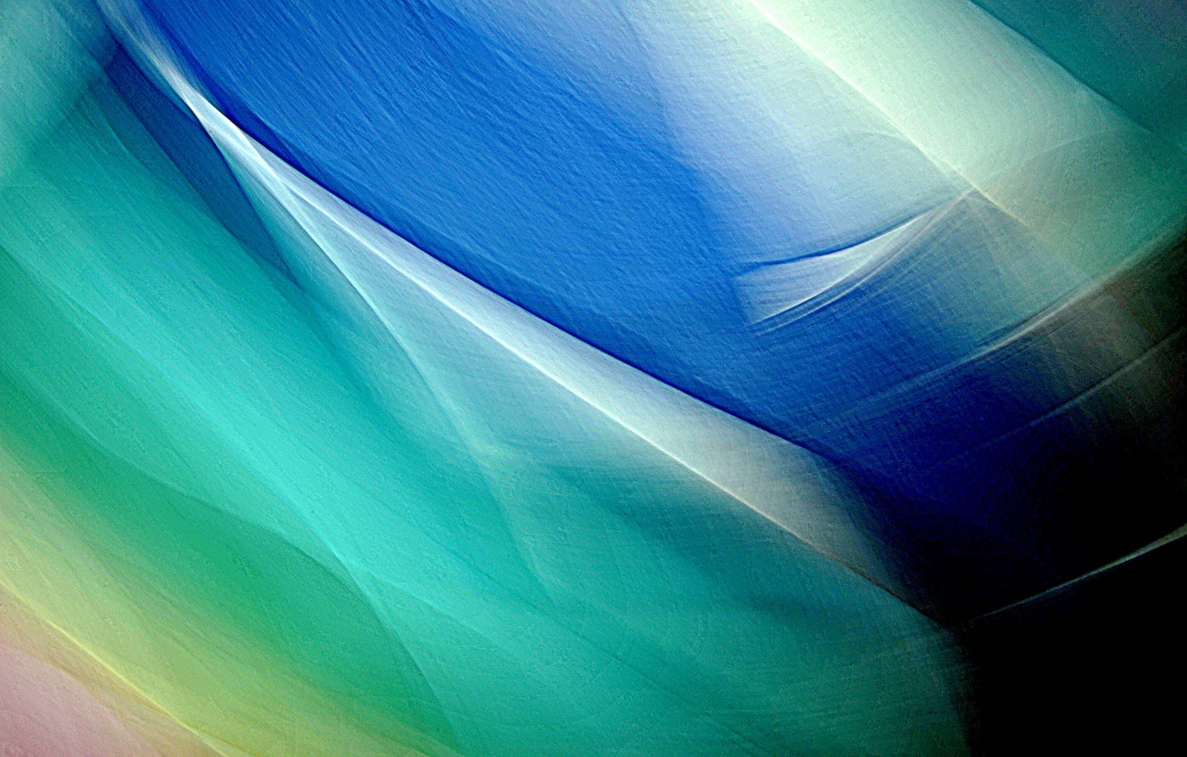 Photo wallpaper rays, light, line, color, the volume