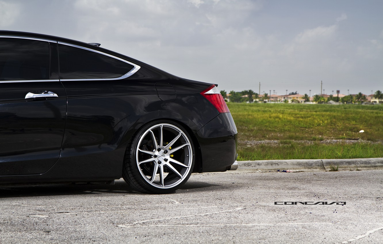 Photo wallpaper disk, Honda, Accord, casting, Coupe, tinted, Wheels, Concave, CW-S5