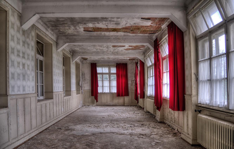 Photo wallpaper background, room, Windows