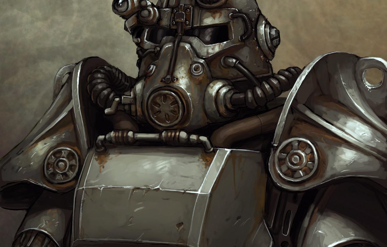 Wallpaper Helmet Armor Fallout Art Bethesda Softworks The