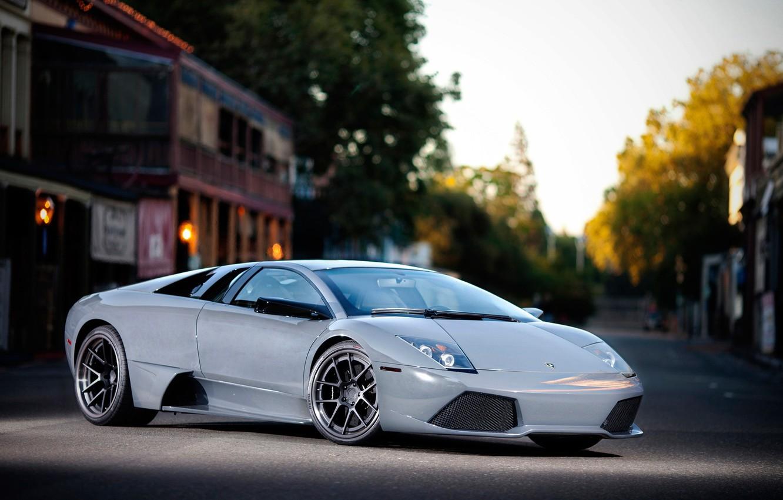 Photo wallpaper Lamborghini, supercar, Murcielago, Lamborghini, LP640