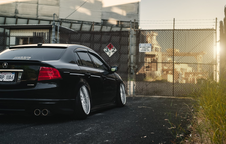 Photo wallpaper black, honda, Honda, accord, chord, acura, stance, Acura