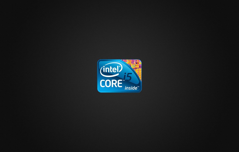 Photo wallpaper logo, core, intel, inside