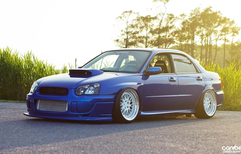 Photo wallpaper tuning, blue, Subaru, canibeat, tunning, Subaru STI