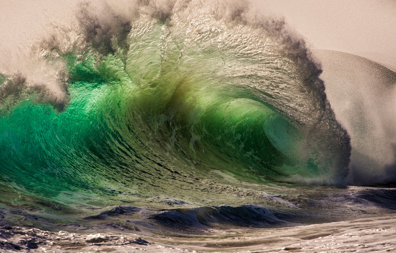 Photo wallpaper sea, drops, squirt, nature, the ocean, wave