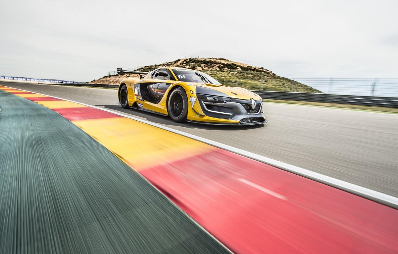 Photo wallpaper Renault, supercar, Reno, Sport, 2014, RS 01