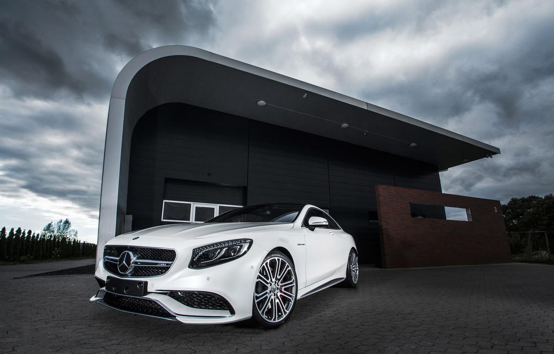 Photo wallpaper Mercedes-Benz, AMG, Coupe, 2014, S-Class, IMSA, С217