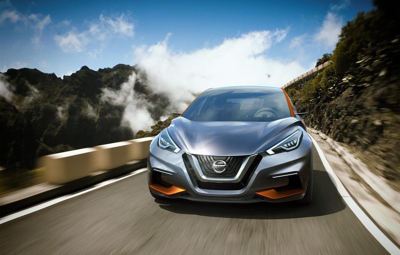 Photo wallpaper Concept, the concept, Nissan, Nissan, hatchback, 2015, Sway