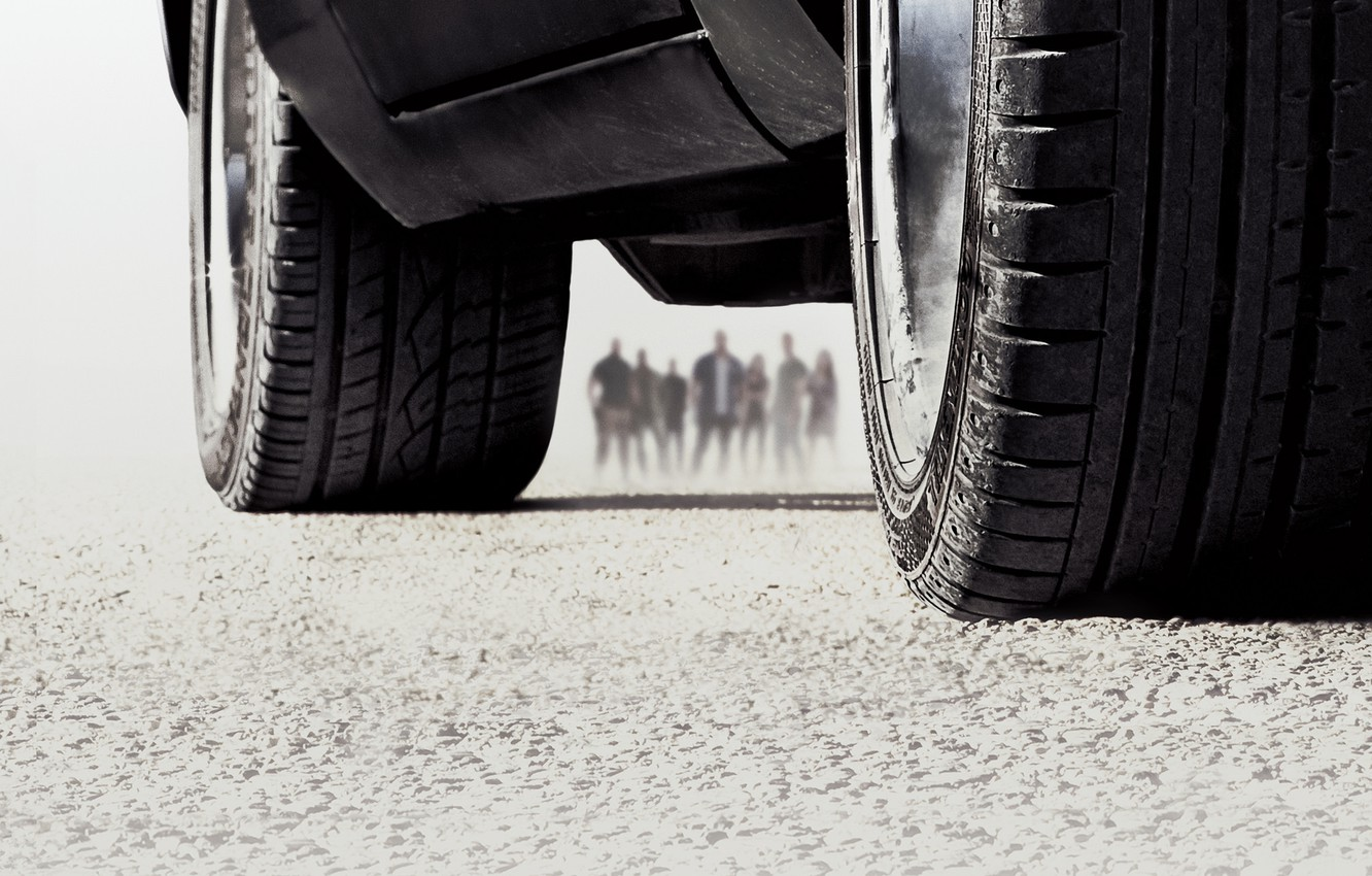 Wallpaper Fast Furious 7 Car Silhouette Tires Images For