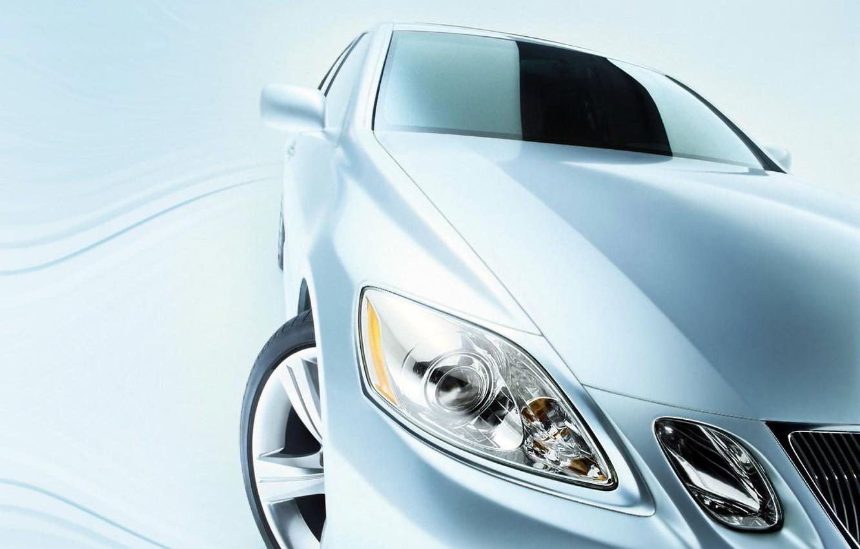 Photo wallpaper auto, wheel, Lexus, Headlight