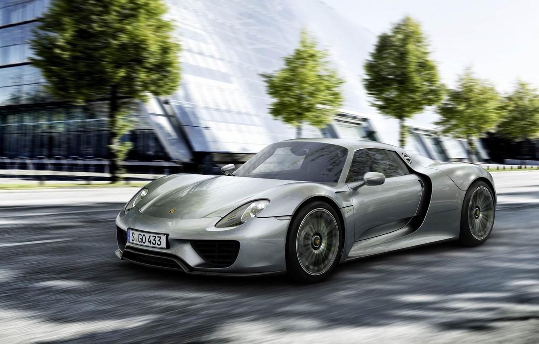 Photo wallpaper Porsche, Spyder, 918