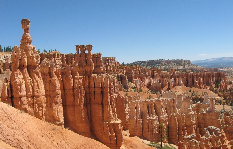 Photo wallpaper canyon, America, Bryce canyon