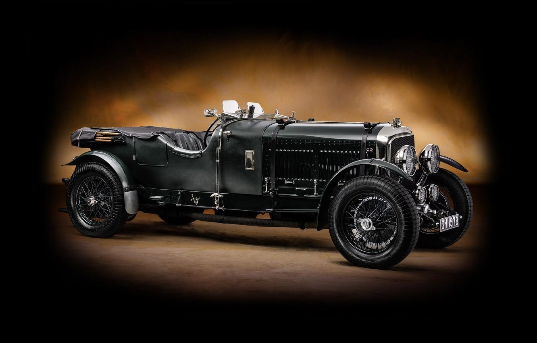 Photo wallpaper Bentley, classic, Bentley, Tourer, 1929, Speed 6, Vanden Plas
