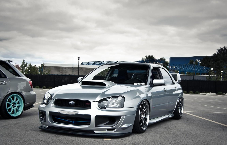 Photo wallpaper subaru, wrx, tuning, Subaru, sti, stance