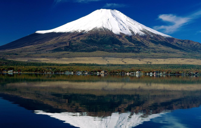 Photo wallpaper Japan, mount Fuji, Mount Fuji