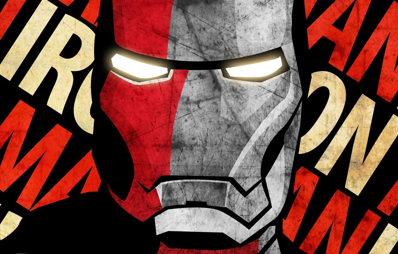 Photo wallpaper Iron man, Iron man, Tony Stark, superhero Marvel, Thony Stark