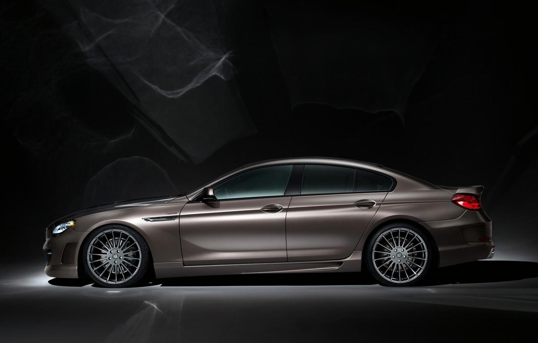 Photo wallpaper Auto, BMW, Sedan, Hamann, Coupe, Gran, Suite, Side view
