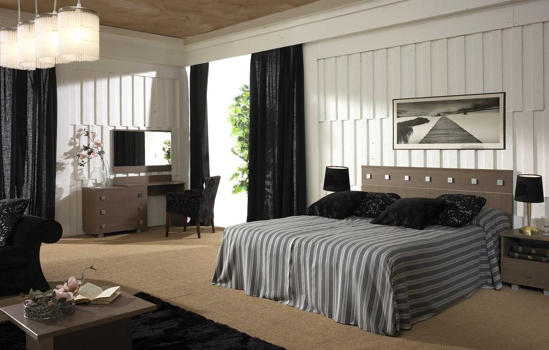 Photo wallpaper design, house, style, Villa, interior, cottage, bedroom