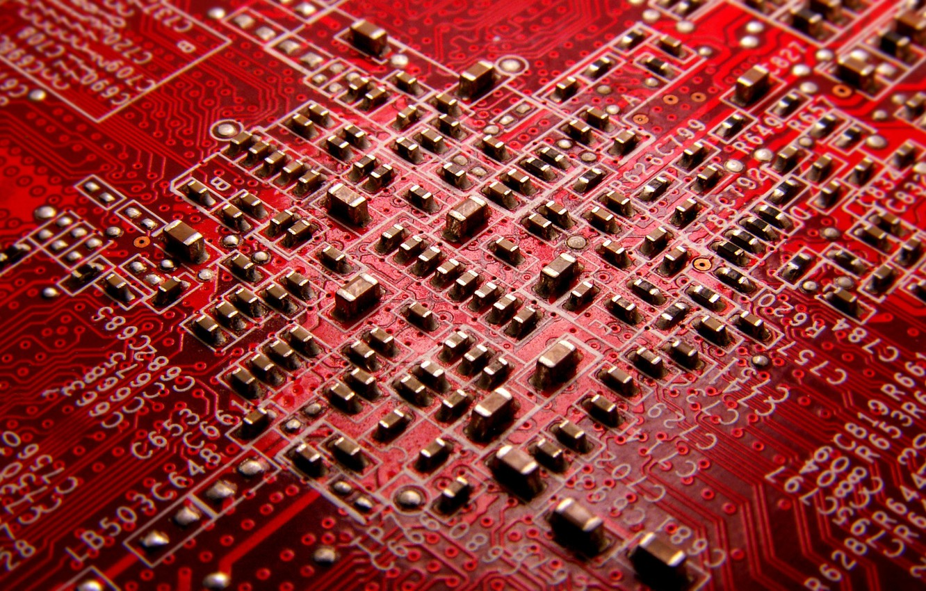 Photo wallpaper red, labels, color, fee, track, printed, designation, tin, radioelement, soldering