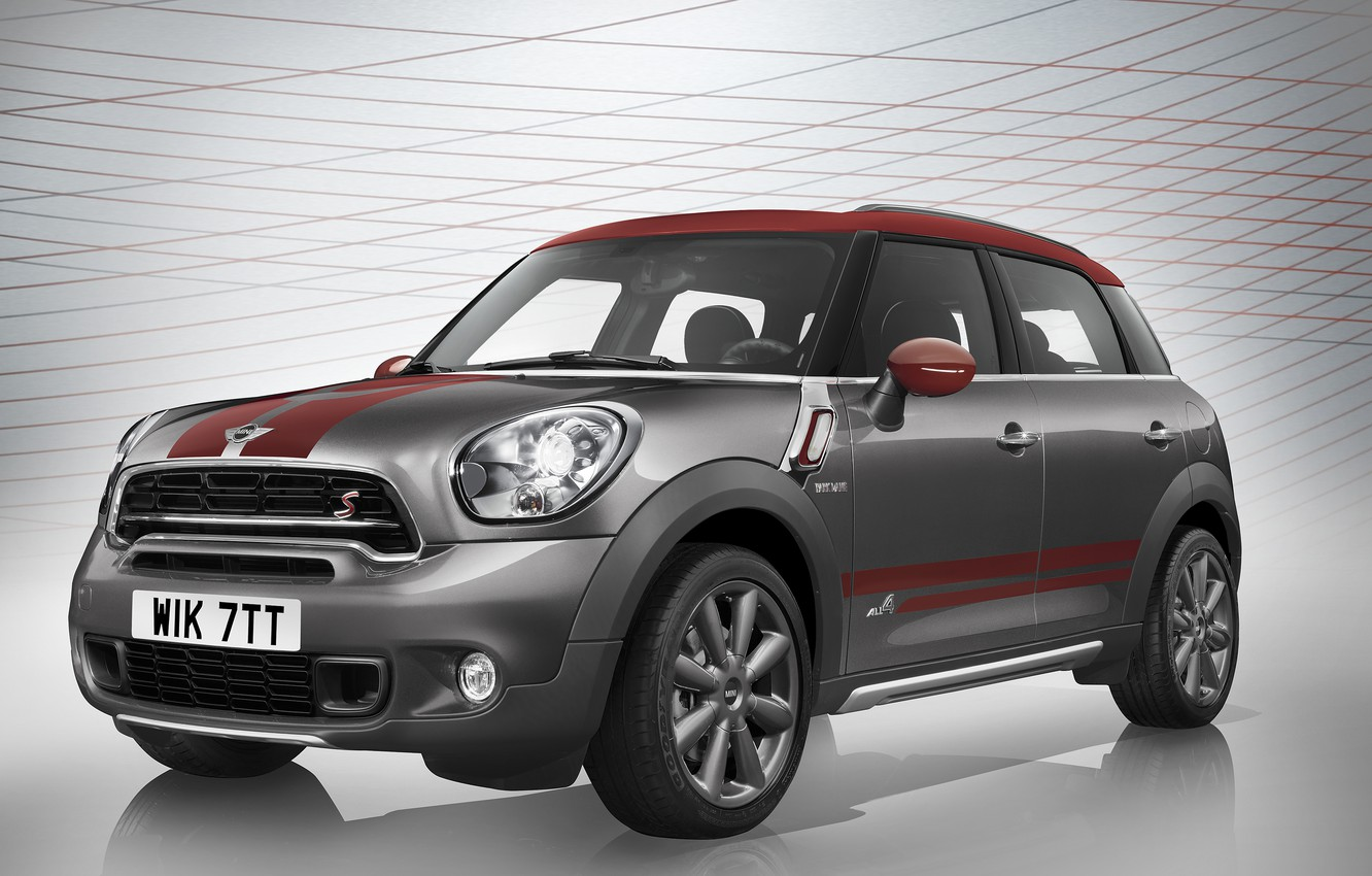 Photo wallpaper Mini, Cooper, Countryman, mini, Cooper, Park Lane, 2015, R60