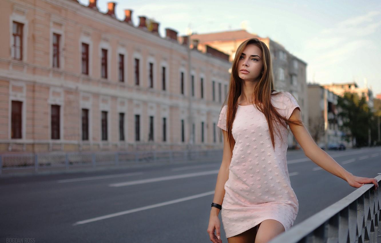 Photo wallpaper walk, Karina, Bogdan Ross
