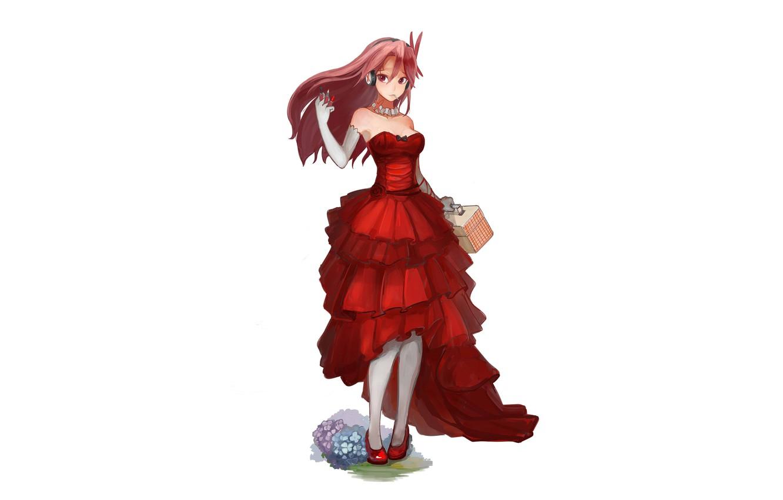 Wallpaper Chelsea Red Dress Akame Ga Kill Akame Ga Kill Night Raid Images For Desktop Section Prochee Download