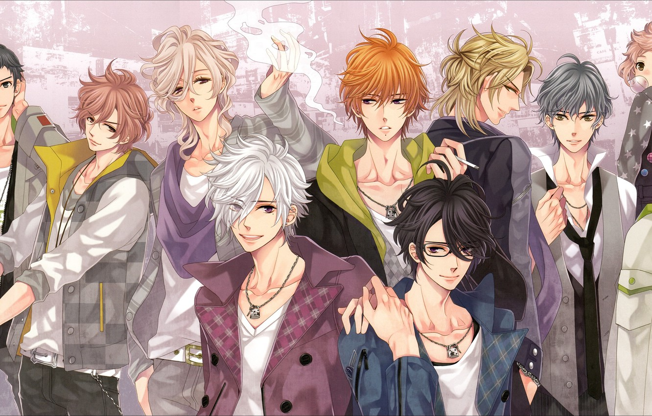 Photo wallpaper anime, guys, brothers, Brothers Conflict, the brotherly conflict