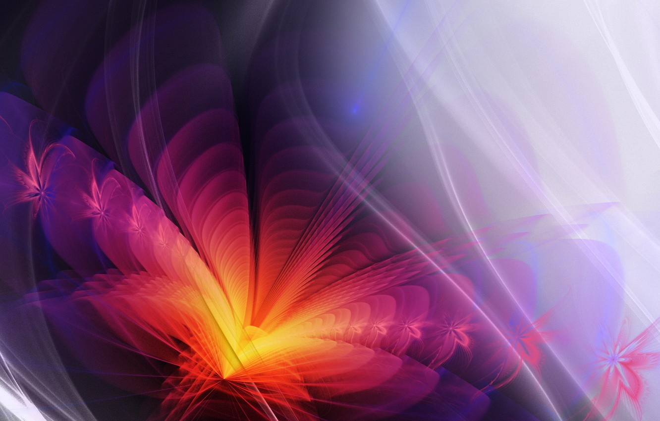 Photo wallpaper abstraction, color, form
