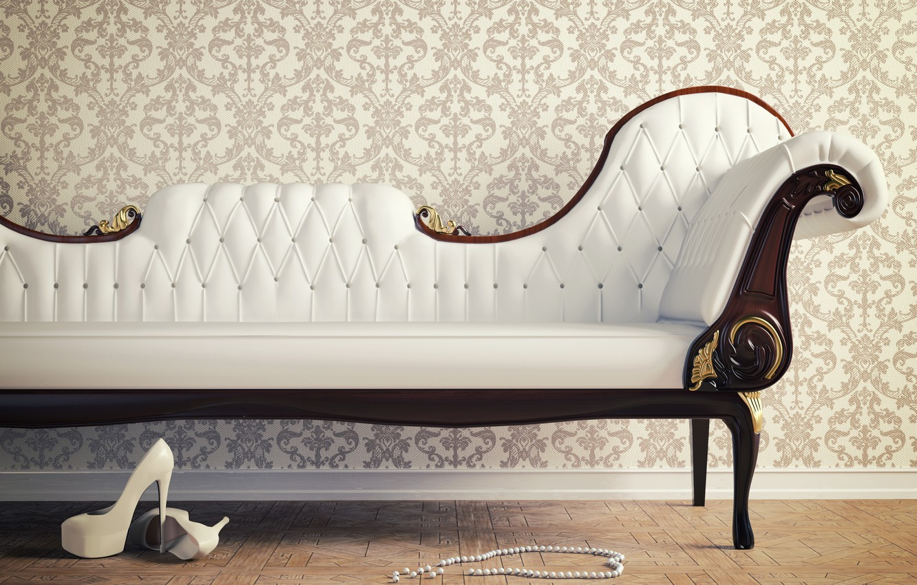 Wallpaper Sofa Wallpaper Interior Shoes Heels Beads Images For