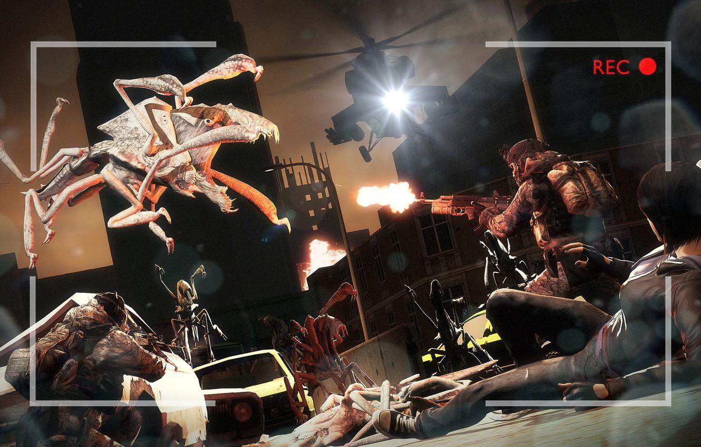 Photo wallpaper monsters, Apocalypse, soldiers, fan art