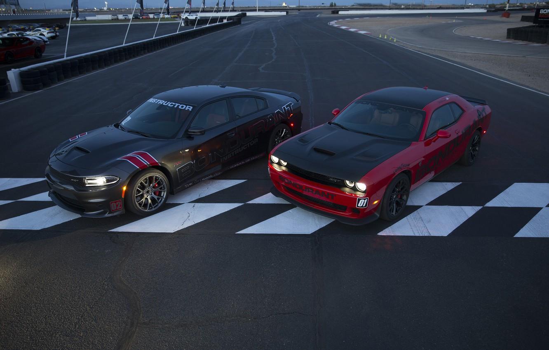 Photo wallpaper Dodge, Challenger, Dodge, Charger, the charger, Challenger, SRT