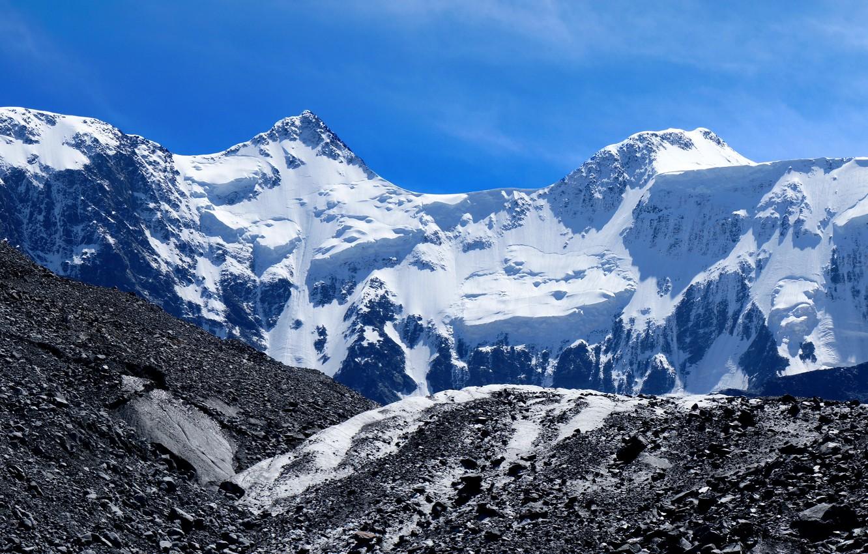 Photo wallpaper mountains, glacier, The Altai Mountains, Belukha mountain