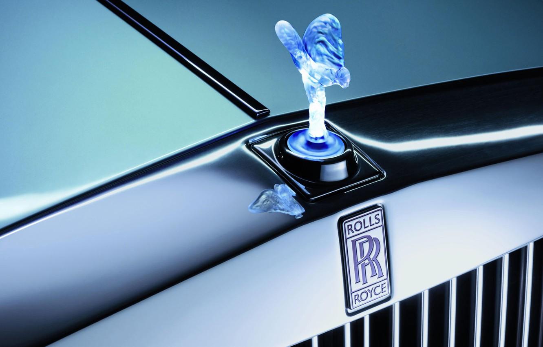 Photo wallpaper Rolls-Royce, grille, emblem