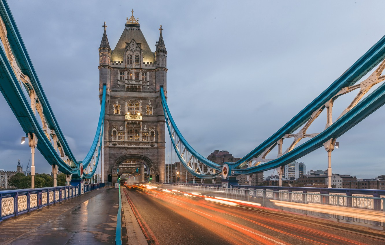 Photo wallpaper Tower Bridge, London, England