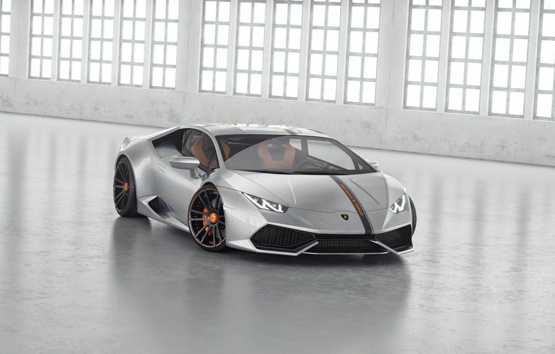 Photo wallpaper Lamborghini, Tuning, Lamborghini, Front, Supercar, Wheelsandmore, Before, Tuning, Supercar, Silver, Huracan, Huracan, Silver, LP850-4, Lucifer