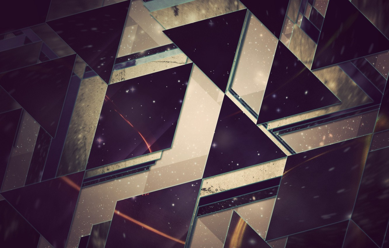 Photo wallpaper abstraction, Wallpaper, triangles, hq Wallpapers