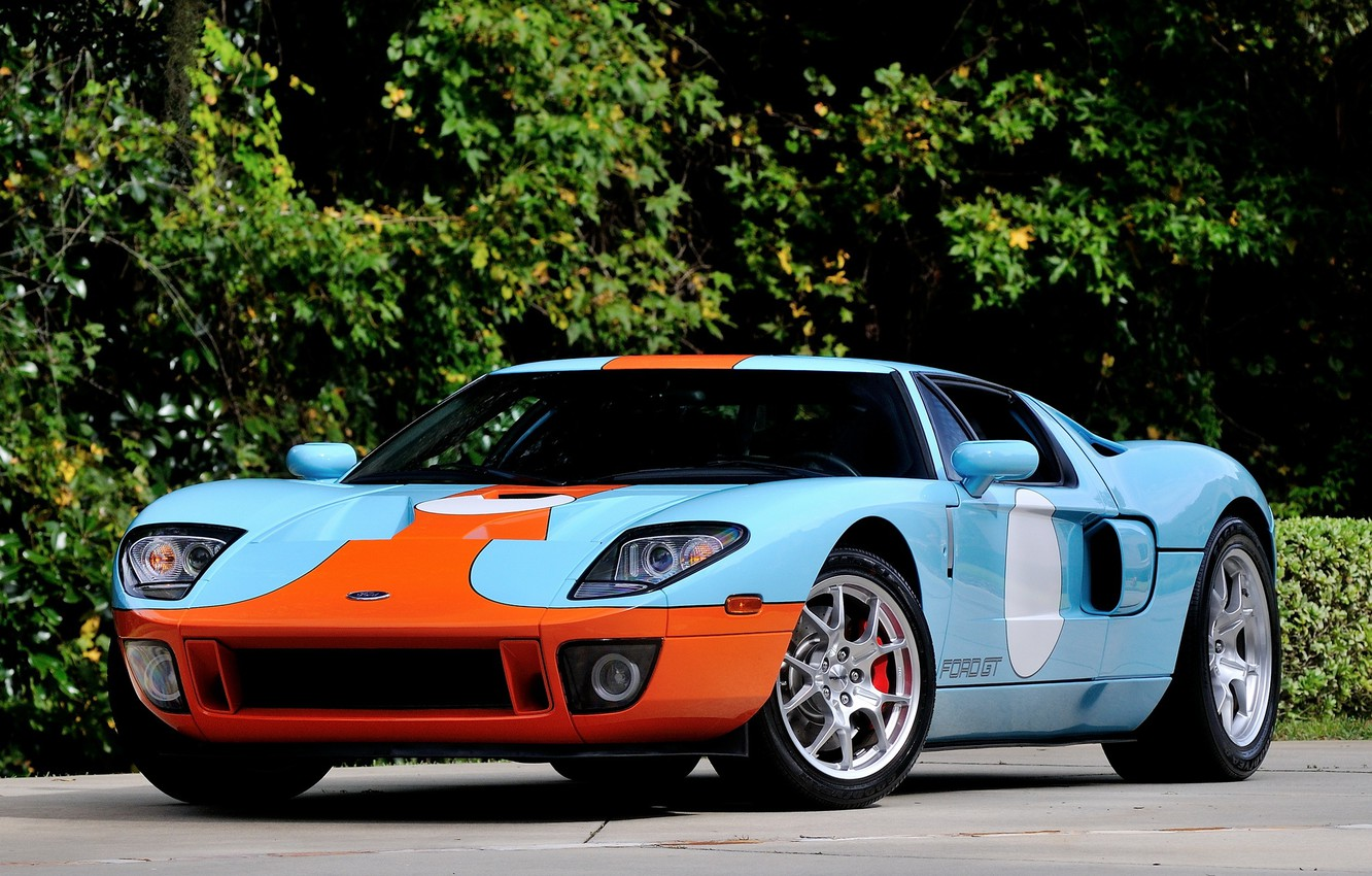 Photo wallpaper Ford, 2006, Heritage, gt